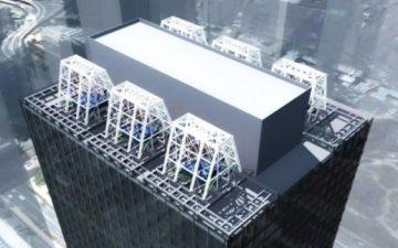 Японские компании разрабатывают маятники демпфирования землетрясения для высотных зданий