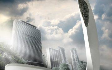 Концепция небоскреба Avis Magica для Майами имеет вертикальный аквариум