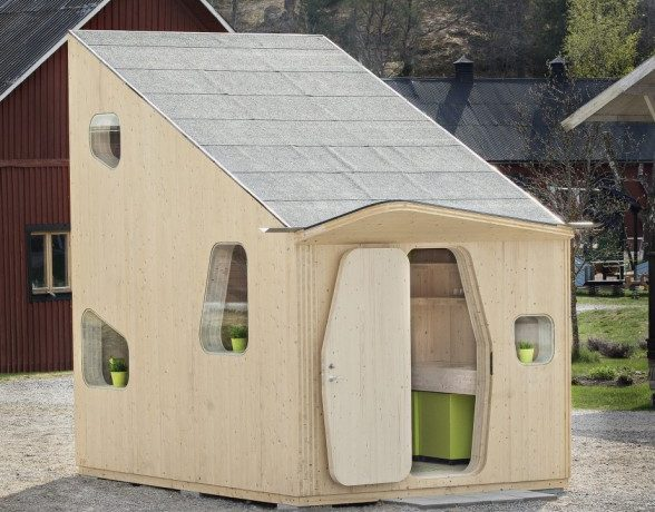 «Умный» микро-дом: новая модель экономичного жилья для студентов в Швеции
