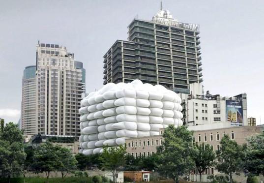 3Gatti представляет проект здания с наружной антибактериальной оболочкой