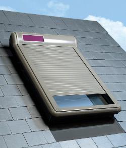 Рольставни ARZ Solar от компании Fakro надежно защитят от солнца