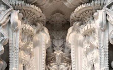 Первая в мире 3D-печатная комната выполнена в стиле барокко