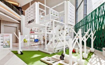 Living in the City: прототип городского многоквартирного дома в небольшом пространстве