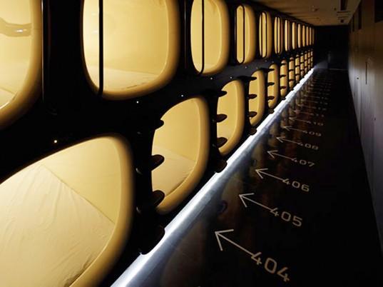 Футуристический отель в Киото предлагает спальные кабинки первого класса