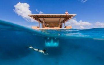 Manta Resort предлагает своим клиентам частный подводный отель рядом с коралловыми рифами
