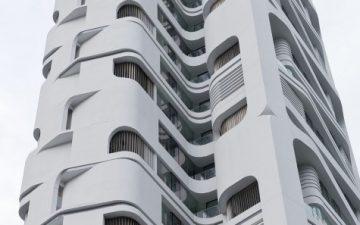 UNStudio завершает строительство нового роскошного небоскреба в Сингапуре