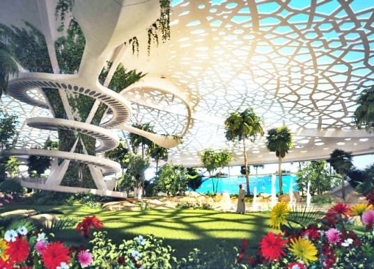 В Катаре построят самоподдерживающийся оазис-сад