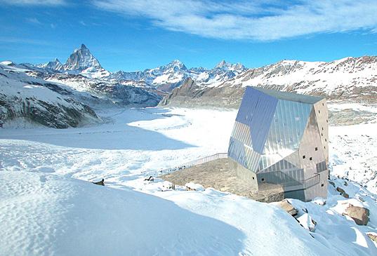 Альпийский домик на солнечных батареях - на 90% самодостаточный