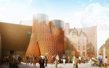 В музее MOMA PS1 будет построено живое здание