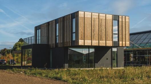В Дании построен экспериментальный дом, который изменяется вместе с изменениями в жизни семьи