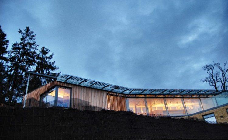 В Англии построен зко-дом с впечатляющими параметрами энергоэффективности