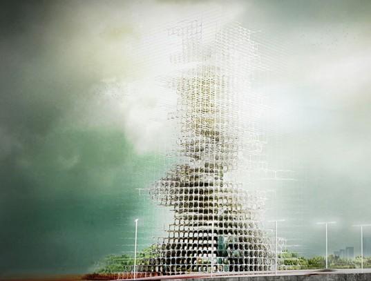 Самостроящийся небоскреб стал одним из победителей конкурса eVolo Skyscraper 2014