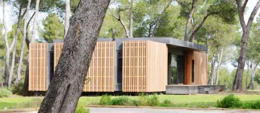 Архитекторы разработали проект сборного дома, который собирается как блоки LEGO