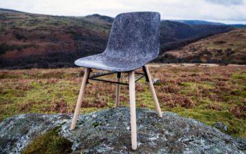 Дизайнер разработал прочный материал из овечьей шерсти для мебели и строительства