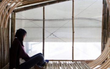 Архитекторы разработали дешевое жилье из бамбука для бездомных в Гонг Конге