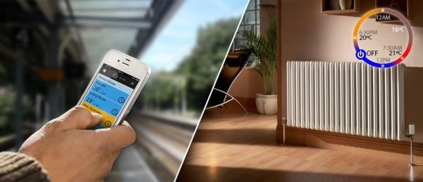 Новая система позволит управлять отоплением в доме через смартфон