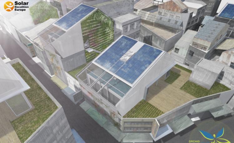 Orchid House: концепция дома, вдохновленная тепличными технологиями Тайваня