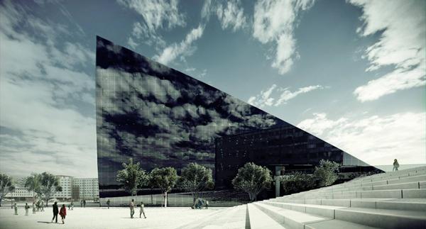 Первое в Норвегии офисное здание с системой энергосбережения