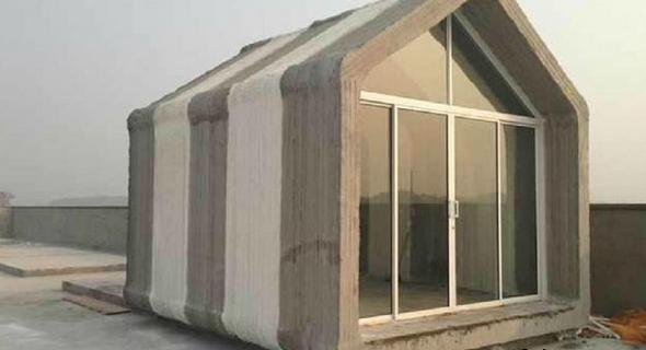 В Шанхае построено десять 3D-печатных домов менее чем за день