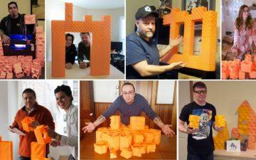 Архитекторы построили из 3D-печатных блоков миниатюрный дом на канале