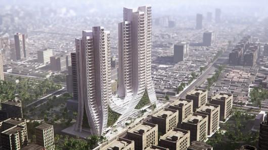 Эко-небоскребы будут очищать воздух в Мумбаи