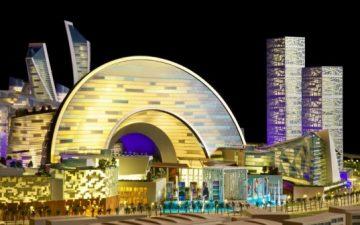 В Дубаи будет построен крупнейший в мире торгово-культурный центр для World Expo 2020