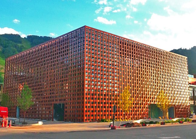 Шигеру Бан представил захватывающий художественный музей в Аспене