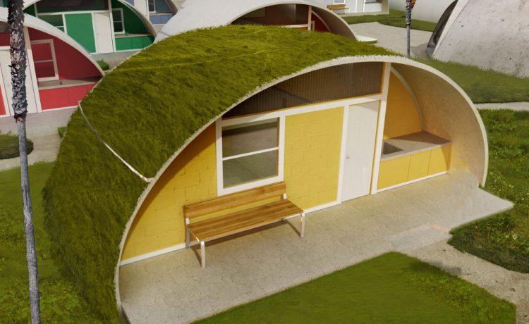 Строительство купольных домов из «надувного» бетона может скоро стать повседневной практикой