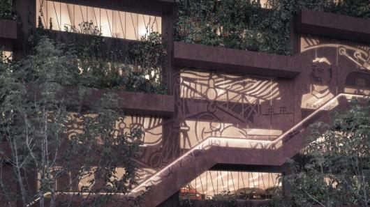 Датские архитекторы представили свое видение автостоянки
