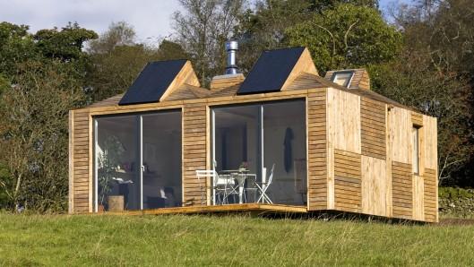 Британская фирма представила новые жилые эко-дома