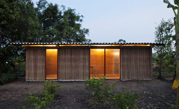 Вьетнамская фирма предлагает жителям доступное жилье, построенное из местных материалов