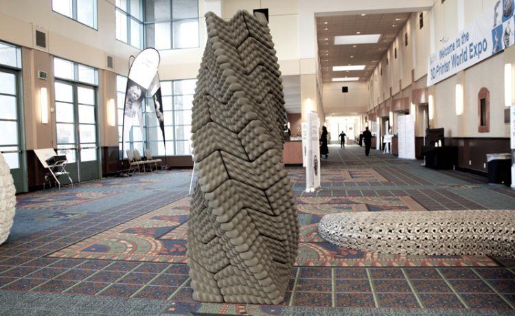 Архитекторы создали 3D-печатную колонну, защищающую здание от разрушения во время землетрясения