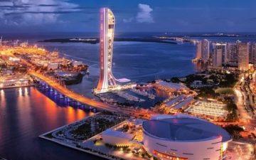 В Майами будет построен новый небоскреб – самый высокий во Флориде