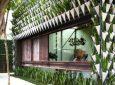 В Бразилии придумали новый тип облицовки здания: с помощью вазонов с живой зеленью!
