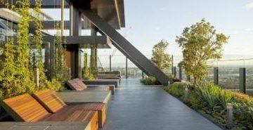В Сиднее построен самый высокий в мире вертикальный сад