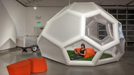 Новый ультра-портативный переносной домик – для заядлых путешественников