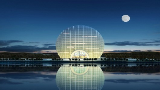В Китае открылся новый отель, символизирующий солнце на рассвете