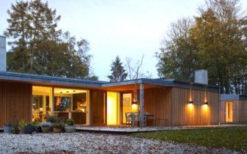 В Дании построен энергосберегающий дом, который отапливается геотермальной энергией
