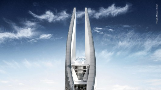 Самый высокий небоскреб в Африке планируется построить в 2018 году