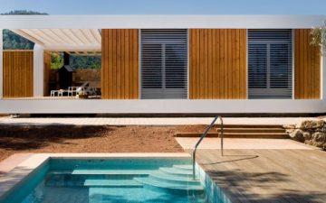 Новый дом, построенный в Испании, сочетает в себе энергоэффективность и «умное» управление