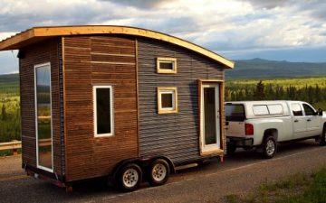 Leaf House, третья версия: крошечный дом для проживания при минусовых температурах