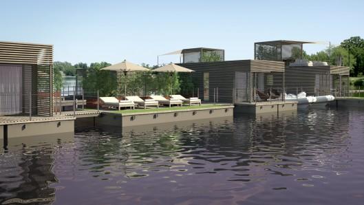 Abifloat- новый проект плавучей деревни