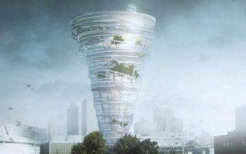 В Талсе может появиться небоскреб-торнадо