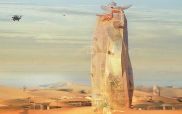 Новый устойчивый «вертикальный город» для пустыни Сахара