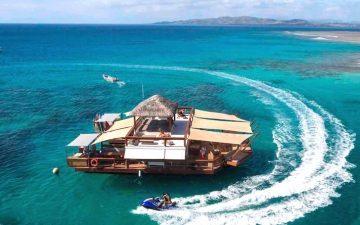 Новая плавающая пиццерия на Фиджи – вкусный кусочек рая