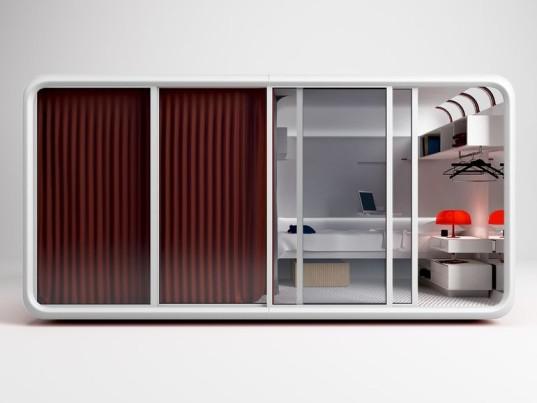 Крошечный сборный блок может быть гостевым домом, дополнительной спальней или офисом