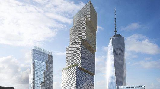 BIG будет строить новый небоскреб для Всемирного торгового центра 2