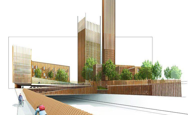 Новое самое высокое деревянное здание будет построено в Париже