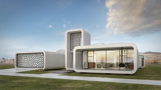 В Дубае планируют построить первое в мире 3D-печатное офисное здание