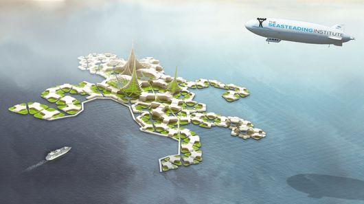 Новый настоящий плавучий город от Seasteading Institute